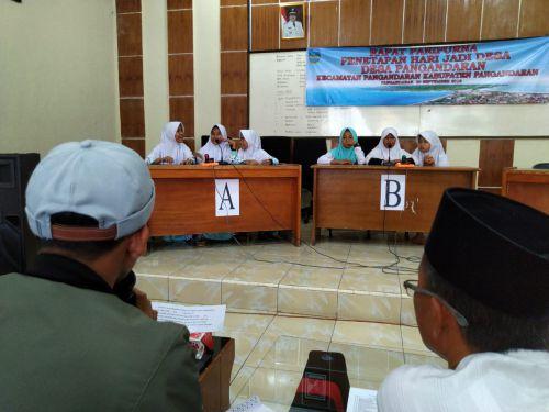 MTQ dan Cerdas Cermat Meriahkan Hari Jadi Desa Pangandaran Yang Ke-37
