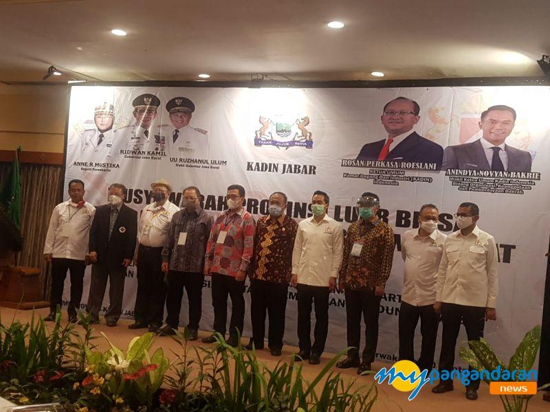 Muslub Kadin Jabar Tetapkan Ketua Baru, Ini Harapan Kadin Pangandaran