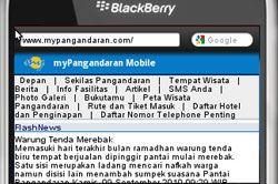 MyPangandaran.com Hadir Dalam Versi Mobile