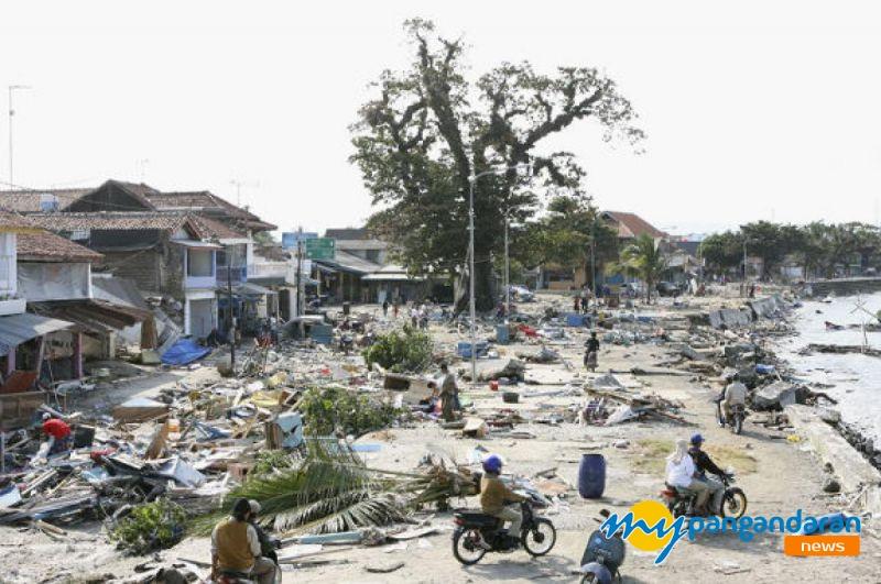 Netizen Pangandaran Ramai-Ramai Kenang Tsunami Pangandaran 12 Tahun Silam