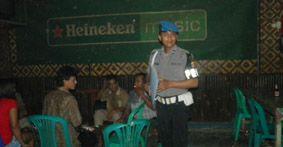 P3D Sweeping Kafe di Pangandaran