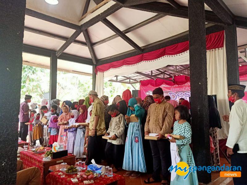 Paguyuban Husamah Desa Sidomulyo Pangandaran, Gelar Santunan Anak Yatim