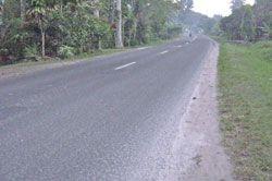 Pangandaran Diguyur Hujan Abu Merapi