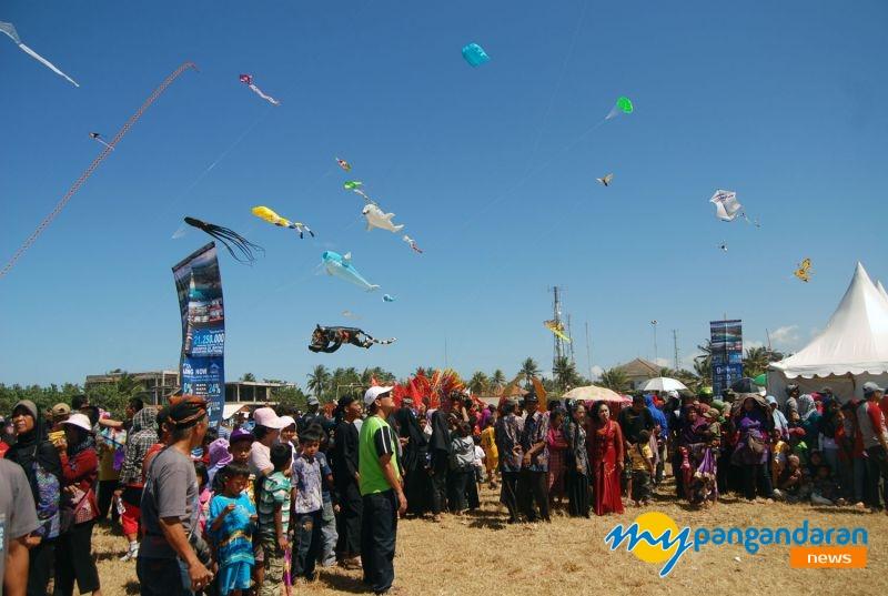 Pangandaran International Kite Festival 2016 Kembali di Gelar
