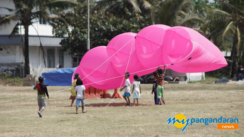 Pangandaran International Kite Festival 2019 di Gelar Hari Ini