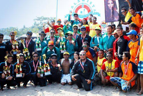 Pangandaran Lifeguard Competition 2014 Berlangsung Sukses