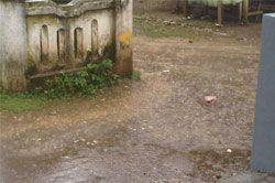 Pangandaran Terus Diguyur Hujan, Panitia Sholat Ied Was-was
