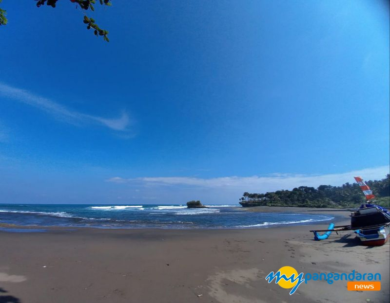 Pantai Muaragatah, Objek Wisata Eksotis Sebelah Barat Pangandaran