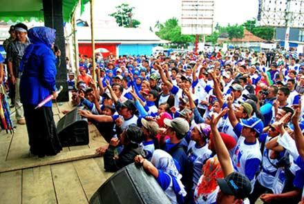 Partai Demokrat Awali Kampanye Terbuka di Pangandaran
