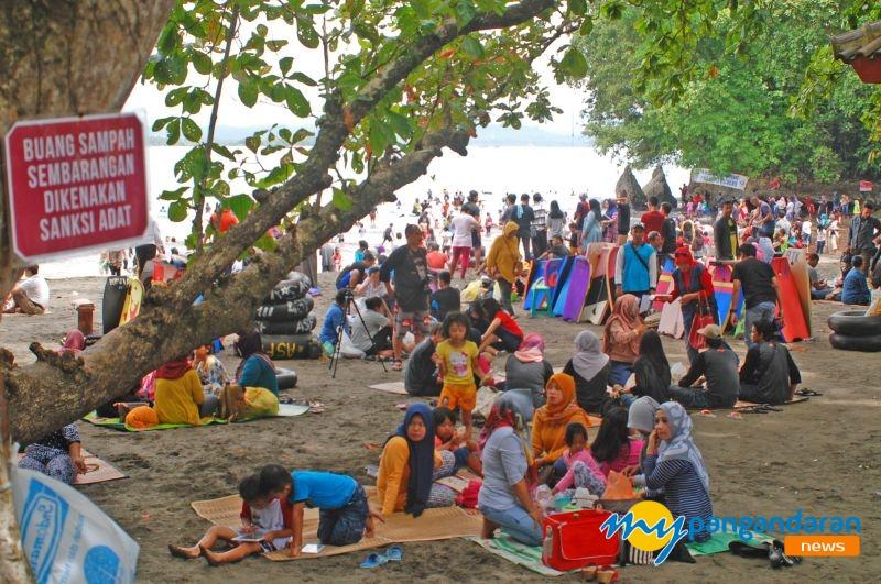Pasca Bencana, Pangandaran Ramai Pengunjung