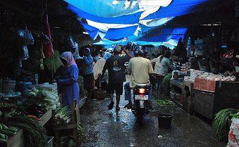 Pedagang Desak Pemkab Ciamis Bangun Kembali Pasar Pangandaran