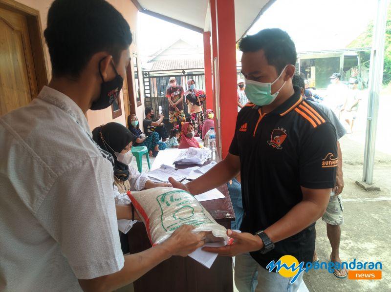 Pelaku Usaha Wisata di Pangandaran Dapat Bantuan Beras