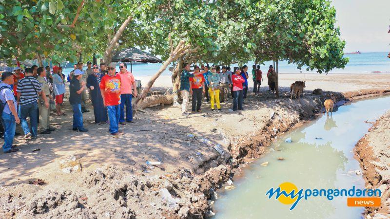 Pembangunan IPAL Diharapkan Jadi Solusi Pencemaran Pantai Barat Pangandaran