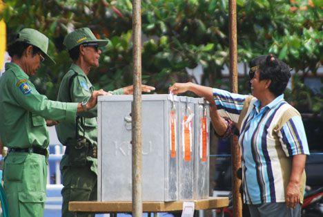 Pemilihan Umum Kepala Desa Pananjung Periode 2013-2018