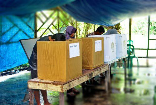 Pemilu Legislatif 2014 di Kabupaten Pangandaran Berjalan Lancar