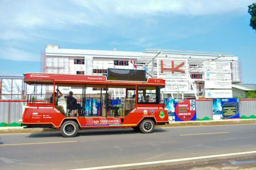 Ini Penampakan Bus Wisata Pangandaran
