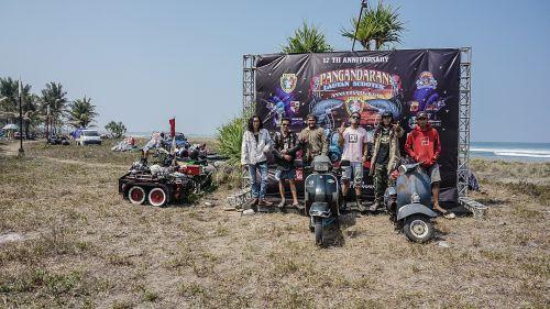 Penuh Hiburan, Pangandaran Lautan Scooter 2019 di Gelar Hari ini