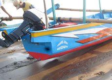 Perahu Seperti Mengejar