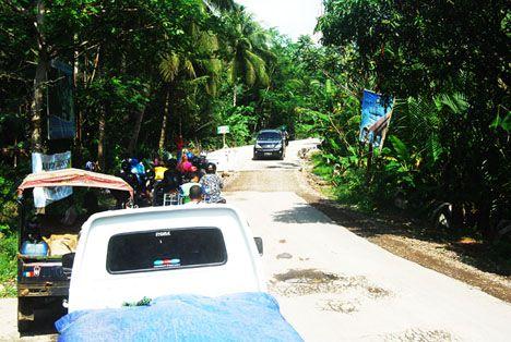 Perbaikan Akses Jalan Cijulang Menggunakan Media Cor