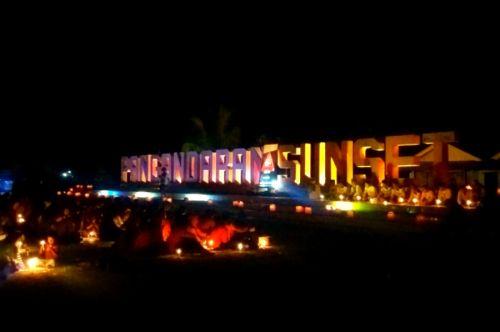 Peringatan 10 Tahun Tsunami Terjang pangandaran Berjalan Sederhana dan Khidmat