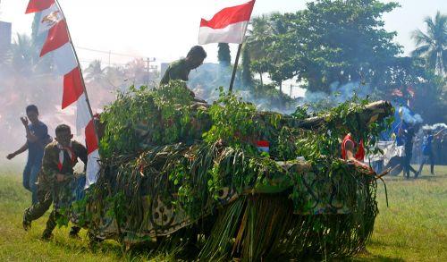 Peringatan Kemerdekaan Ke-71 Di Pangandaran Terlaksana Dengan Meriah