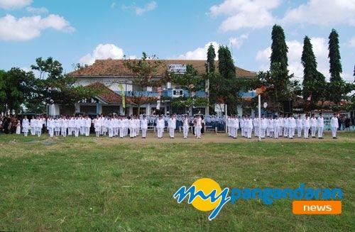 Peringatan Proklamasi Kemerdekaan RI Ke-69 di Kabupaten Pangandaran Meriah