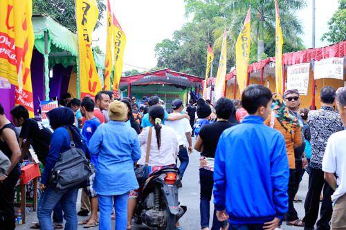 Peringatan Ulang Tahun Desa Pangandaran Ke-32 Berlangsung Meriah