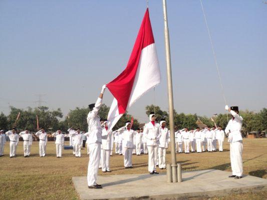 Persiapan Perayaan Proklamasi Kemerdekaan Indonesia di Pangandaran
