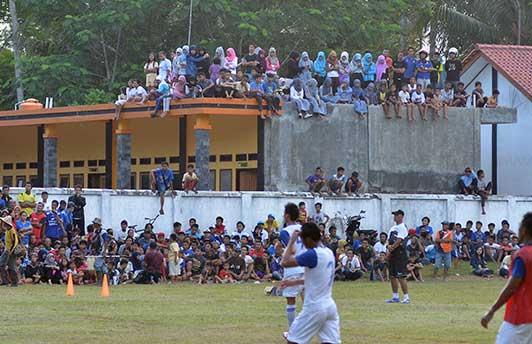 Persib vs Pangandaran Selection Digelar di Lapang Cibenda Sore Nanti