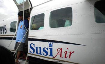 Pesawat Susi Air yang Jatuh Diawaki 2 Orang