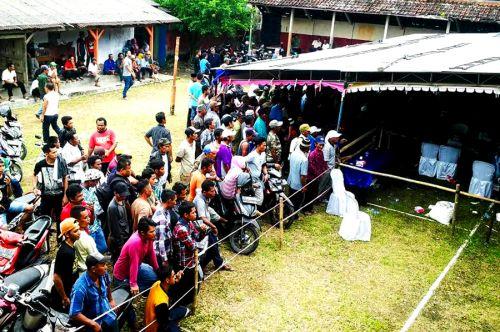 Sugeng Rahayu, Menangkan Pilkades Serentak Desa Cimerak Pangandaran