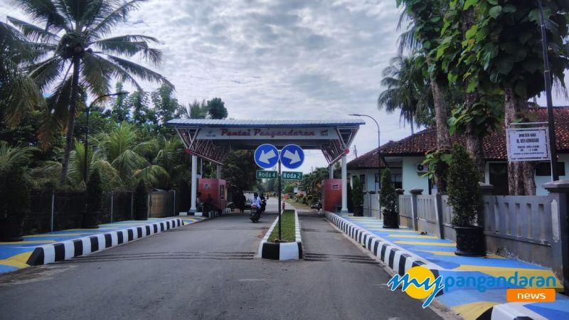 Pindah, Gerbang Masuk Timur Pangandaran Terapkan Satu Arah