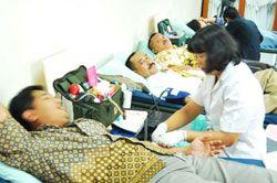 PMI Ciamis Kehabisan Persediaan Darah, Pangandaran Donor Darah
