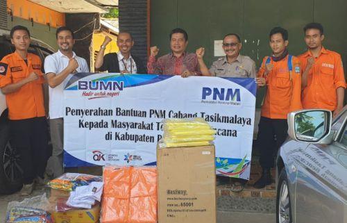 PNM ULaMM Berikan Bantuan Peralatan Kepada BPPD Kab. Pangandaran