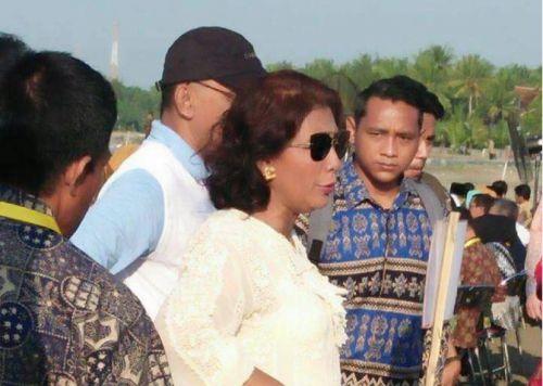Presiden dan Menteri Susi Berikan Berbagai Bantuan Untuk Pangandaran