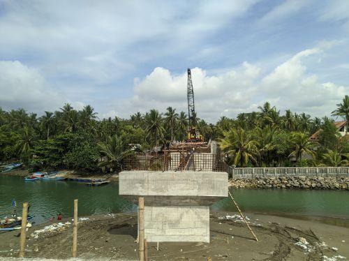 Progres Jembatan Muara Cikidang Lintas Pesisir Pangandaran Hampir Selesai