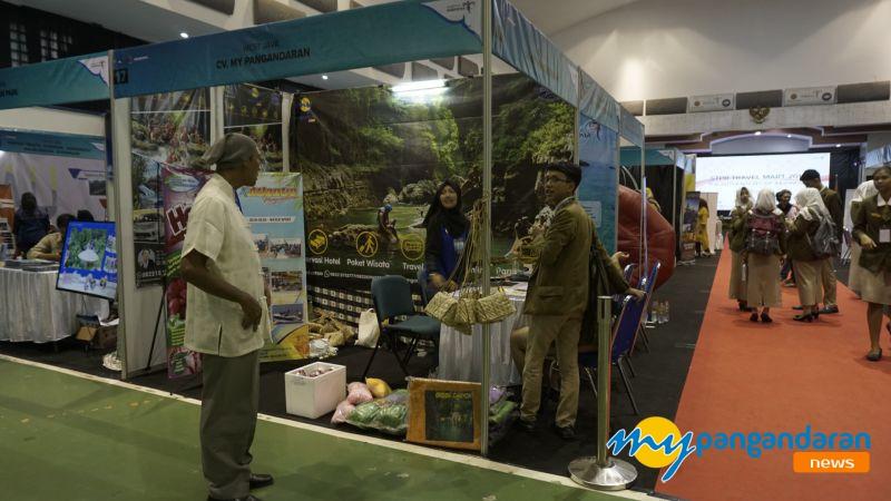Promosikan Pangandaran, myPangandaran Hadir di Travel Mart 2019 Bandung
