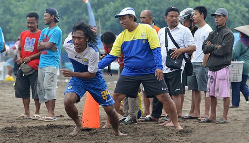 Punya Pantai Bagus, Persib Berencana TC di Ciamis dan Pangandaran