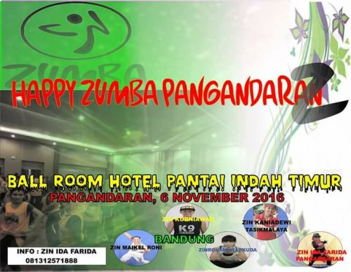 Ratusan Peserta Akan Meriahkan Happy Zumba Pangandaran ke-2