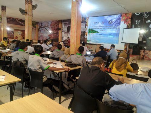 Ratusan Pelaku Wisata Ikuti Sertifikasi Yang di Gelar Oleh DPD ASITA Pangandaran