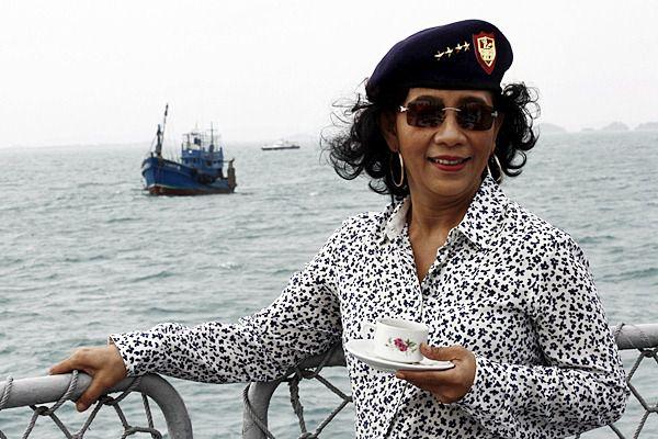 Rindu Pangandaran, Menteri Susi Berencana Ngantor di Kapal Laut