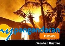 Rumah Wakil Ketua PAC PDIP Terbakar
