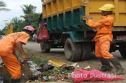 Sampah di Pasar Wisata Mulai Diangkut
