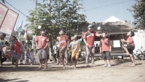 Semarak HUT RI ke-74, Warga Dusun Bojongsari Kec Pangandaran Gelar Kampung Merdeka