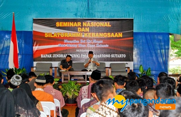 300 Peserta Ikuti Seminar Nasional dan Silaturahmi Kebangsaan di Pangandaran