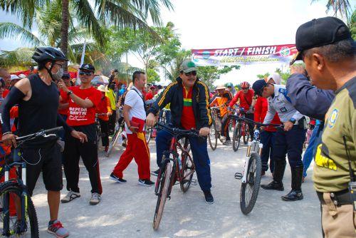 Sepeda Santai Dalam Rangka HUT PGRI-73