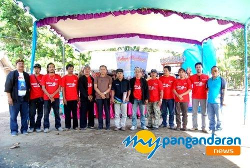 Serah Terima SK KOMPEPAR Kabupaten Pangandaran