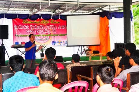Silaturahmi Akhir Tahun 2013 Desa Sidomulyo