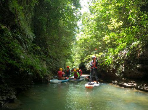 Stand Up Paddling, Atraksi Wisata Baru di Pangandaran Pertama di Indonesia