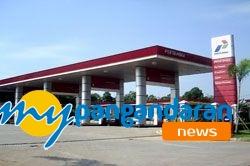 Stok  Premium Untuk kecamatan Pangandaran Aman